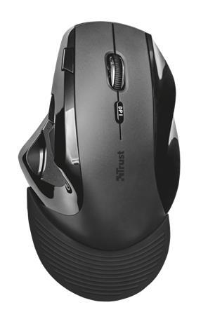 Trust Vergo Ergonimic Comfort Mouse, langaton hiiri