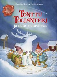 Tonttu Toljanteri ja outo jouluvieras, kirja