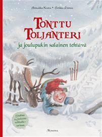 Tonttu Toljanteri ja joulupukin salainen tehtävä (Annukka Kiuru), kirja