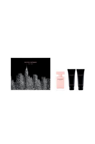Narciso Rodriguez Lahjapakkaus For Her Edt 50 ml / Body Lotion 75 ml / Shower Gel 75 ml