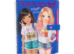TOPModel Magic Fun Colouring Book