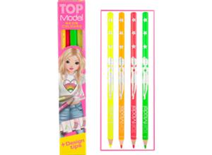 TOPModel Colour Pencils Neon ,