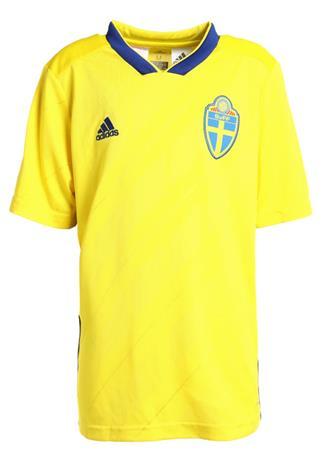 adidas Performance SVFF SWEDEN HOME Pelipaita yellow/mysink