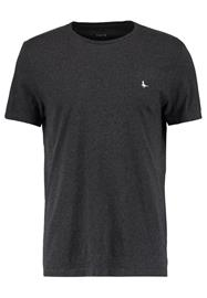 Jack Wills SANDLEFORD BASIC TEE Tpaita charcoal