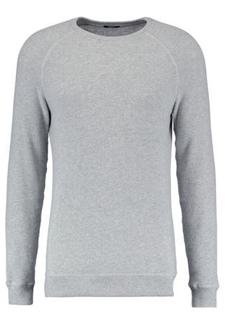 Denham RAGLAN CREW Neule stone grey