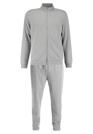 Pier One FUNNEL ZIP THROUGH Pyjama grey