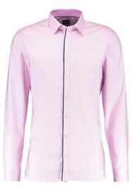 OLYMP No. Six SUPER SLIM FIT Vapaaajan kauluspaita pink