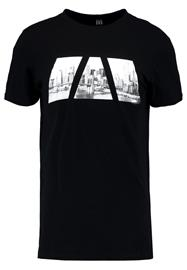 New Look PANEL CITY Printtipaita black