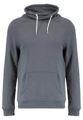 New Look FUNNEL NECK CREW Collegepaita dark grey