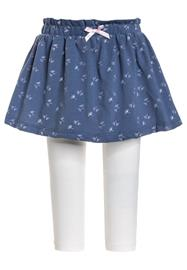 Sanetta fiftyseven SKIRTTROUSERS SUMMER BABY GIRLS Minihame blue