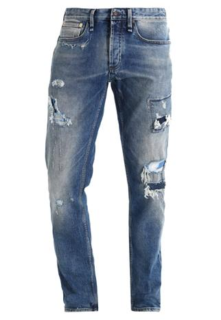 Denham RAZOR Straight leg farkut blue denim
