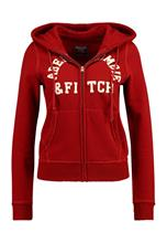 Abercrombie & Fitch XM17HOLIDAY LOGO Collegetakki red