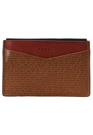 Fossil ANDY Lompakko cognac/red/navy