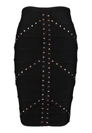 New Look FRONT BANDAGE SKIRT Kynähame black
