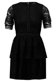 Missguided Petite FULL LAYERED MINI DRESS Juhlamekko black