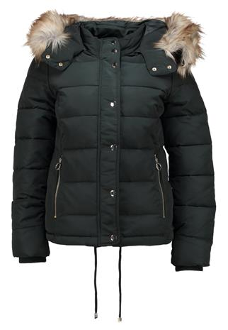 Topshop NANCY PUFFER Talvitakki forest green