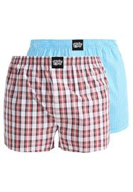 Lousy Livin Underwear CHECK 2 PACK Bokserit red/white