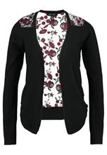 New Look BACK CARDIGAN Neuletakki black pattern
