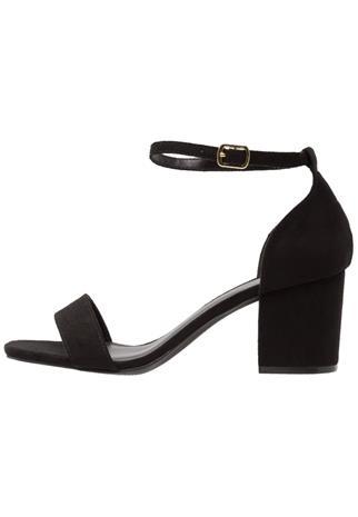New Look Wide Fit WIDE FIT TAQUARE Korolliset sandaalit black