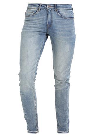 New Look VINTAGE TWISTED SEAM SkinnyFarkut blue