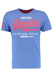 Superdry VINTAGE LOGO NEW ENTRY Printtipaita royal jaspe