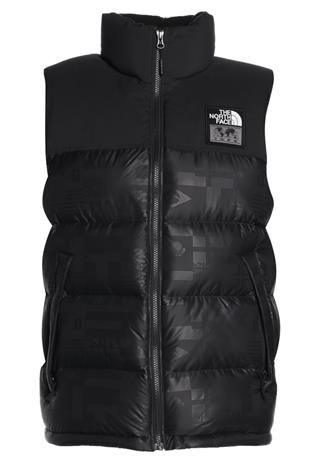 The North Face NUPTSE VEST FLAG Liivi black