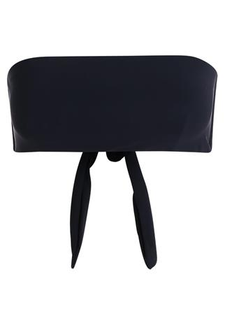 Filippa K BANDEAU Bikiniyläosa black