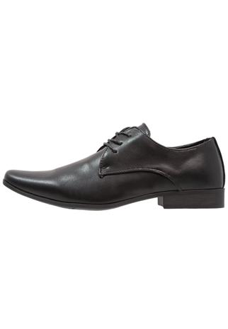 Feud London 3 EYE PLAIN DERBY Klassiset nauhakengät black