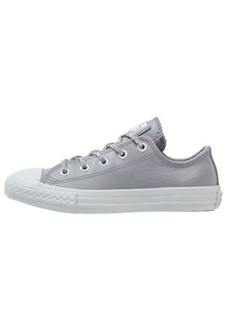 Converse CHUCK TAYLOR ALL STAR OX COOL GREY/PURE PLATINUM YOUTH Matalavartiset tennarit cool grey/pure platinum