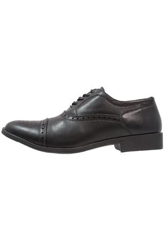 Feud London TOECAP OXFORD Klassiset nauhakengät black