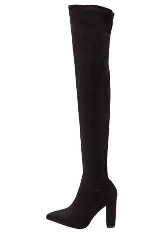 River Island Wide Fit Ylipolvensaappaat black