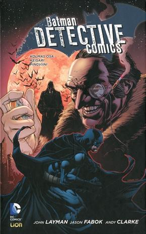 Batman detective comics 3 : keisari pingviini, kirja