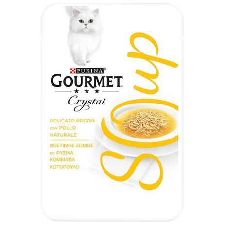 Gourmet Soup 4 x 40 g - tonnikala & sardelli