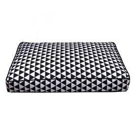 Päällinen Basic Fusion Dap, musta&valk 80 x 55 x 10 cm