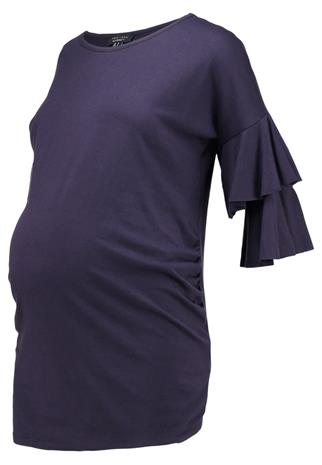 New Look Maternity TIERRED SLEEVE Printtipaita navy