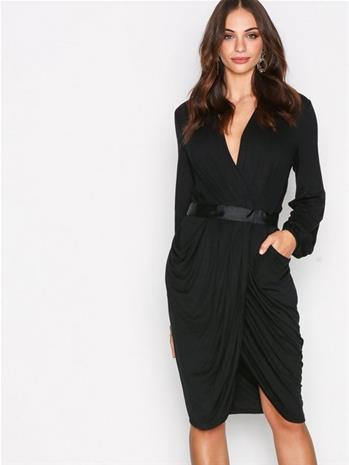 Y.A.S Yasmacy L/S Jersey Dress Kotelomekot Musta