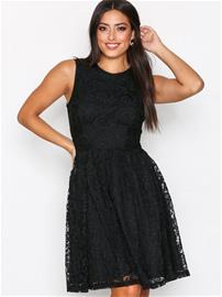 Only onlARMILA S/L Lace Dress Jrs Skater dresses Musta