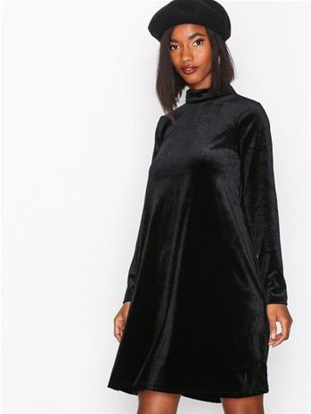Vila Visince Dress 35 Pitkähihaiset mekot Musta