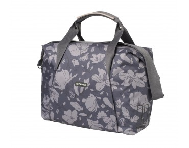 BASIL MAGNOLIA CARRY ALL BAG rear pannier blackberry 18 l