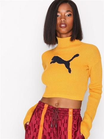 Fenty Puma By Rihanna LS Loose Turtleneck Sweater Neulepuserot Keltainen