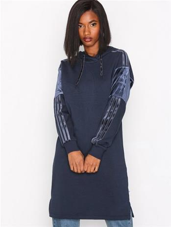 Adidas Originals Hood Dress Pitkähihaiset mekot Legend