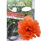 Basil Flower Peony for handlebar and frame orange