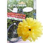 Basil Flower Dahlia for handlebar and frame yellow