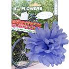 Basil Flower Dahlia for handlebar and frame purple