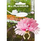 Basil Flower Dahlia for handlebar and frame pink