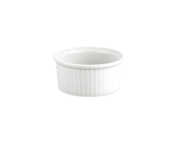 Pillivuyt Ramekin Annosvuoka Matala 9 cm Valkoinen