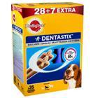 Pedigree Dentastix Medium, 28 + 7 kpl Bonuspakkaus