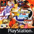 Capcom vs SNK Pro, PS1 -peli