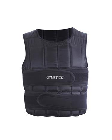 Gymstick Power Vest, säädettävä painoliivi 20 kg