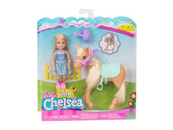 Barbie Chelsea ja poni